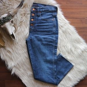 J. Crew | Vintage Straight Jeans With Button Fly
